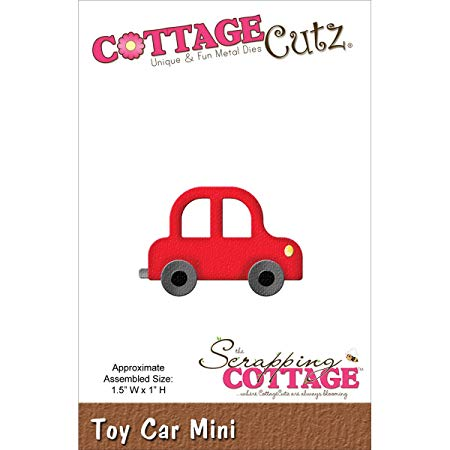 CottageCutz – Troquel Metal Mini Die-Toy Coche 3,8 x 2,54 cm