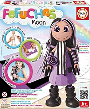 Educa Girls Fofuchas Doll-Moon by Educa