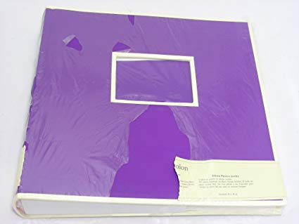 Jumbo Album plum +++ 50 sheets photo mounting board beige with glassine sheet protectors +++ PHOTO- AND SCRAPBOOK +++ Quality made by Semikolon