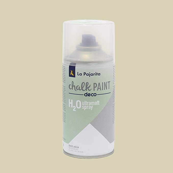 La Pajarita Chalk Paint Pintura Tiza Spray Beige Antiguo , 300 ml