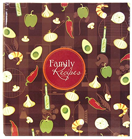 MBI 3-Ring Bound Scrapbook Kit - Family Recipes