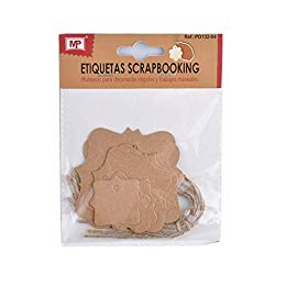 MP PD122-06 - Pack de 21 etiquetas de scrapbooking