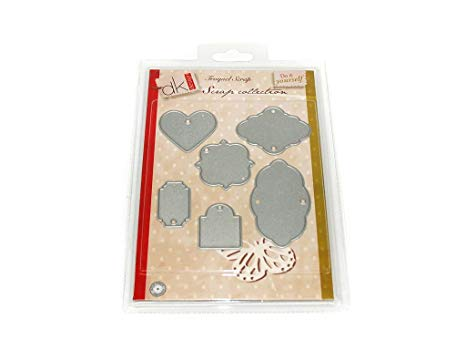 Scrap Collection Tags - Troquel para scrapbooking, A5